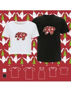 T-shirt ORIGAMI XMAS POP BEAR