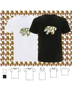 T-shirt ORIGAMI XMAS TREE BEAR
