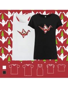 T-shirt ORIGAMI XMAS POP CRANE